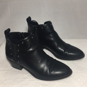 Simply Vera Womens Ankle Boots Black Size 6.5